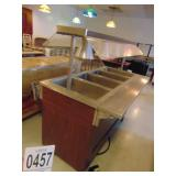 Vollrath Model 99145 4 Well Steam Table Duel