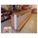 "Counter /Bi Level Bar 190"" long 10 door cabinets"