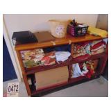 Display Case with Power and Table Covers 5