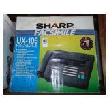 Sharp UX-105 Facsimile Fax/Phone