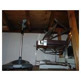 2 Stainless Steel Chaffing Pan Holders , Wire and