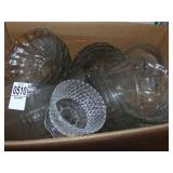 Clear Glass Bowls and Dishware