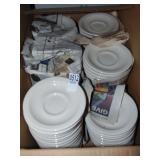 White Tea / Coffee Cup Plates