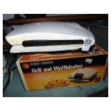 Grill / Waffle Maker and Waffle maker 2 count
