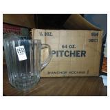64 Oz. Pitchers 5 glass
