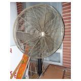 Large Metal Pedi stool Fan