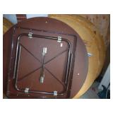 """60"""" Round Folding Tables 6 count"""