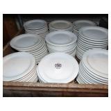 White China Snack Plates