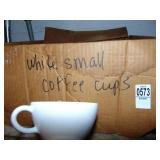 White Small Coffee Cups
