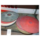 Floor Machine Pads and Drylock Cement