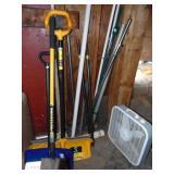 Shovels Brooms Fire Pick Poles Metal and Plastic