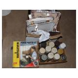 Wagner Power Painter Paint Pans and Spray Paint