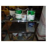 Stainless Steel Cart with Card Readers Paint and