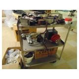 Stainless Steel Cart with Electrical Accessories