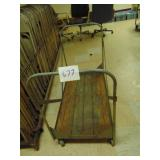 Metal Chair Cart