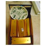 Metal Coin Roll Trays and Gilbertsville Fire