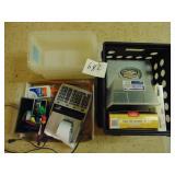 Desktop Calculator and Office Supplies
