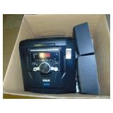 RCA 5 Disc CD Changer Stereo with Speakers