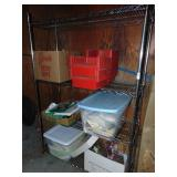"""Stainless Steel Shelf and Contents 48"""" x 24"""" x 74"""""""