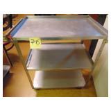 Vollrath Stainless Steel 3 tier cart