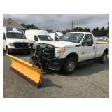 2011 Ford F250 4x4 Diesel w/ Snowplow 42K miles