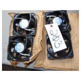 4 Edmpapst Cooler Fans 4606N
