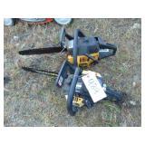 2 Chainsaws Poulton 220 Pro McCulloch MS163