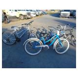4 bikes