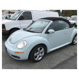 2006 Volkswagen Bug Convertible - 30K orig miles