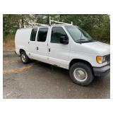2003 Ford E250 Van (65K miles)