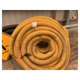 4 inch yellow plastic pipe
