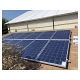 12 Solar panels