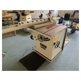 Jet table saw 12in xacta cabinet saw