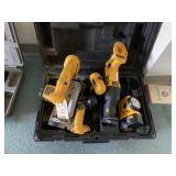 Dewalt 6 piece tool set w/case