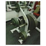 Hammer Strength Barbell Weight Stand