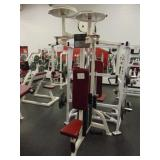 Life Fitness Butterfly Machine