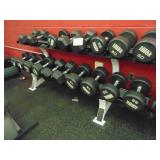 Hammer Strength Weight Rack With Dumbbells