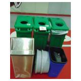 Recycling Bins and Trash Cans