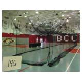 50ft Athletic Netted Enclosure