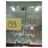 2 Retractable Basketball Hoops
