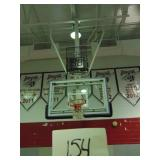 2 Retractable Basketball Hoops With Scoreboards