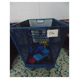 2 Metal Basket Carts