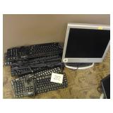 Dell Keyboards HP Monitor