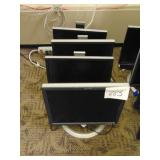 4 Dell Monitors