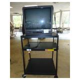 Television and Cart