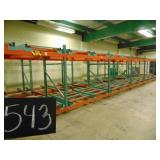 Pallet Racking with Roller Carts