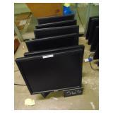6 Dell Monitors
