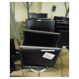 5 Dell Monitors