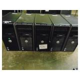 5 Dell OptiPlex 755 Towers
