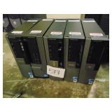 5 Dell OptiPlex 980 Towers